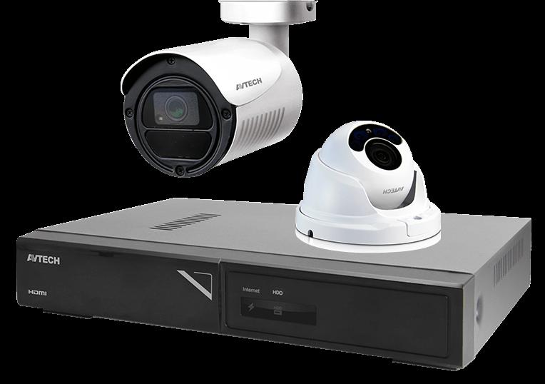 監控主機攝影機組-AVTECH